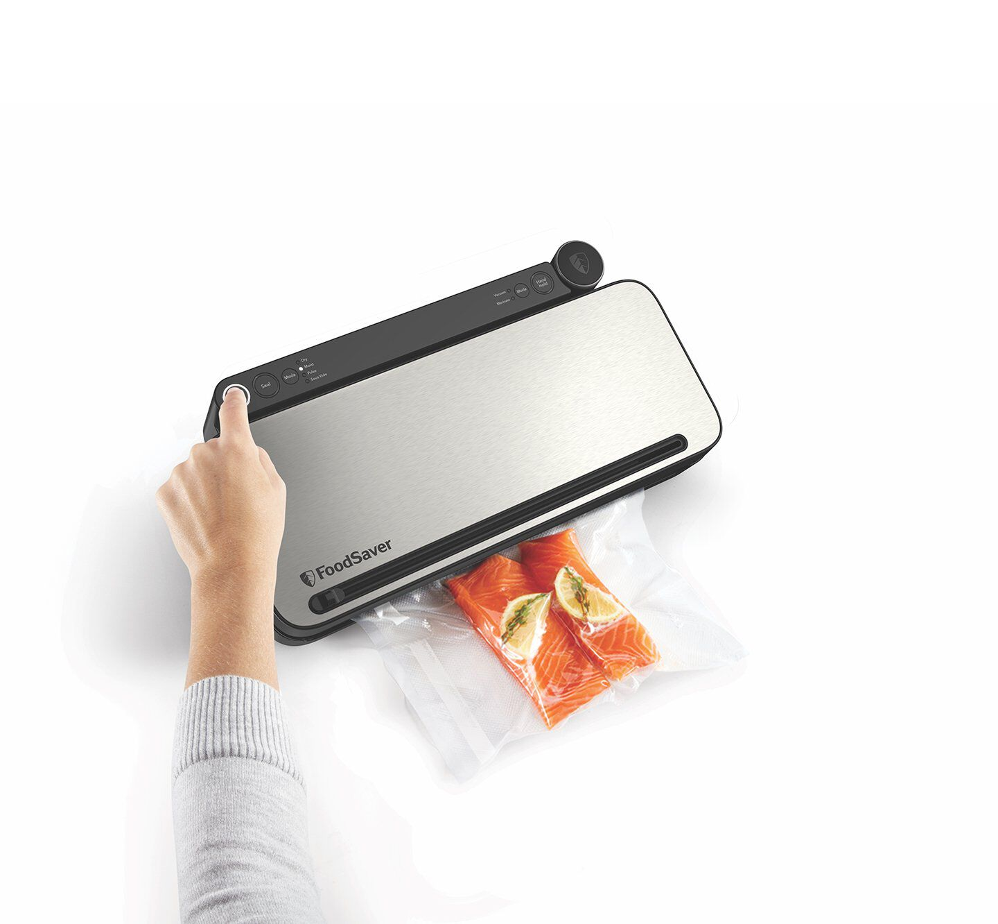 Vacuum sealer for food